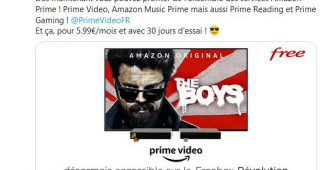 Amazon Prime Video enfin sur Freebox Revolution