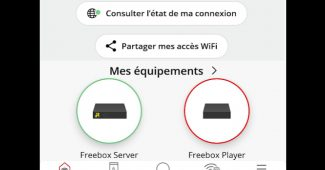 L'application Freebox Pop